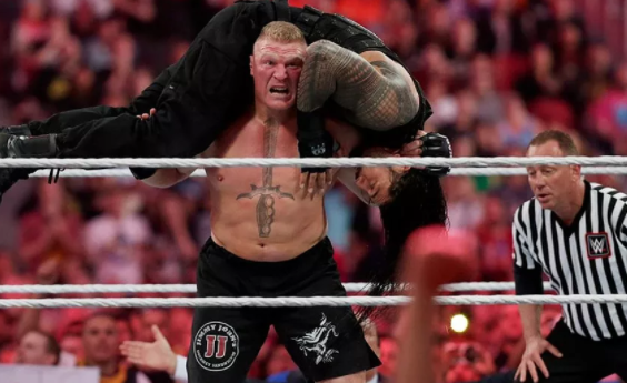 Brock Vs Roman WrestleMania
