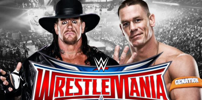 John Cena Vs The Undertaker