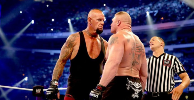 Undertaker Vs Lesnar
