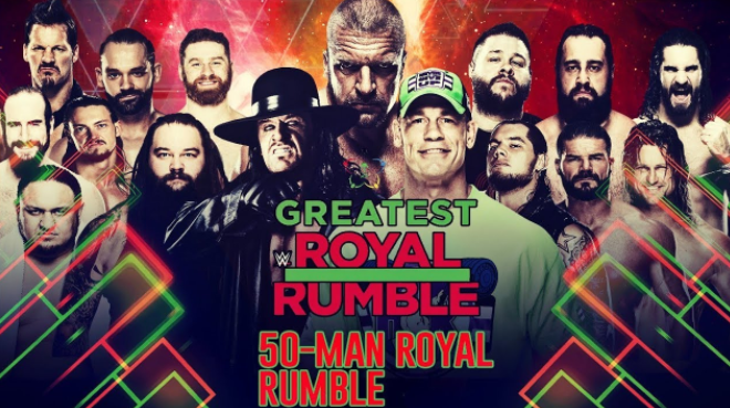 50-man greatest royal rumble