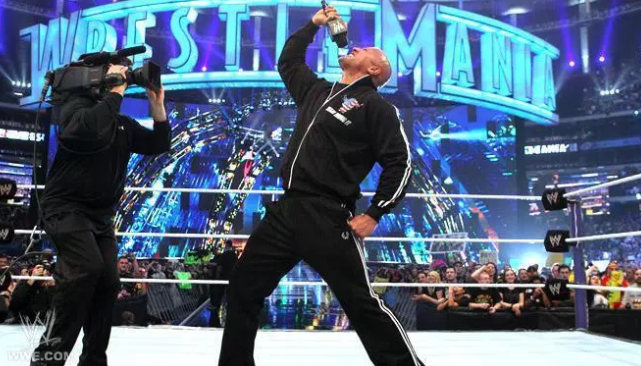 Rock WrestleMania Return
