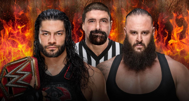 mc folley as a special guest referee