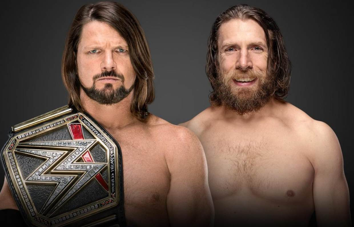 wwe extreme rules match cards