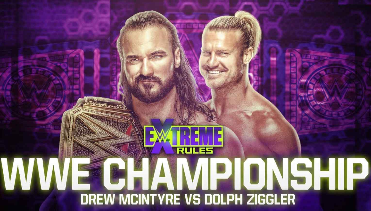 extreme rules match cards