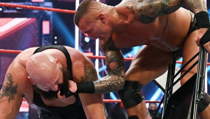 randy orton vs big show