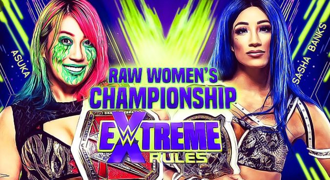 asuka vs sasha banks