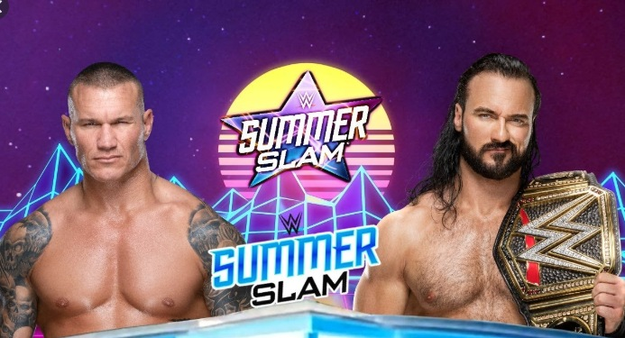 wwe summerslam match cards